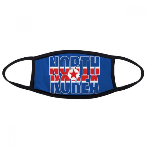 North Korea Country Flag Name Mouth Face Anti-dust Mask Anti Cold Warm Washable Cotton Gift