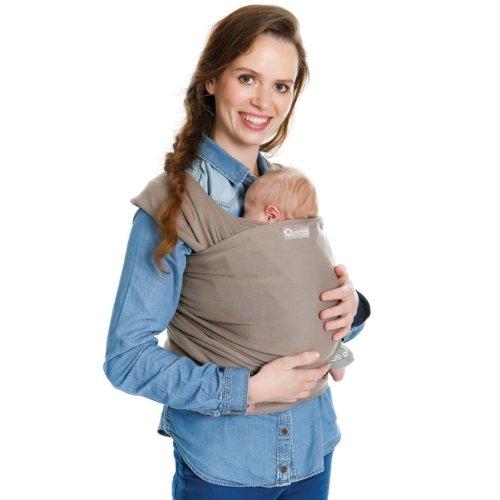 Babylonia Tricot-Slen Organic Baby Wrap Brown BDDTS 1 950