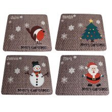 Personalised Christmas Gift Place Mat