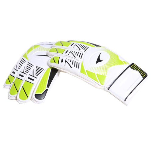 Professional Durable Adults Football Receiver Gloves, (Green/White, M)