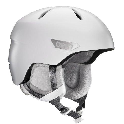 Bern Bristow Snow Helmet w/ White Liner - Satin White Large