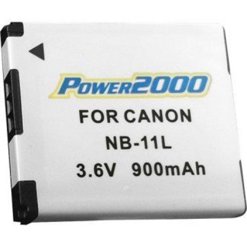 Power2000 NB 11L Replacement thium Ion 3 6 volt 900mAh for Canon Powershot ELPH 110 HS Series Cameras