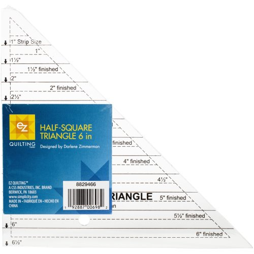 """EZ Quilting Angle Rule-6"""" Clear"""