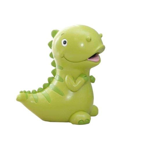 Cute Green Dinosaur Kids Money Collector Coin Bank
