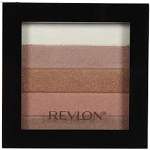 Revlon Highlighting Palette, Bronze Glow 030, 0.26 oz { 7 Pack }