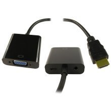 HDMI To VGA And Audio Convertor With USB Power
