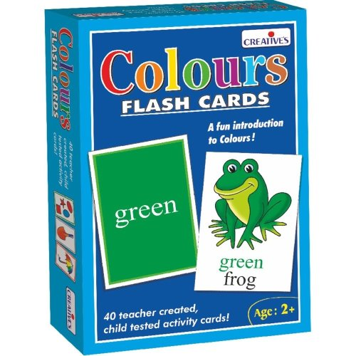 Cre0522 - Creative Pre-school - Colours- Flash Cards
