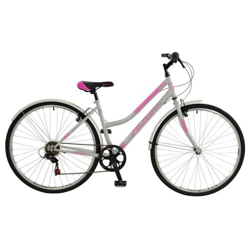 "Falcon Swift Ladies 700c 6 Speed 17"" Frame Hybrid Traditional Bike F7014071-1"