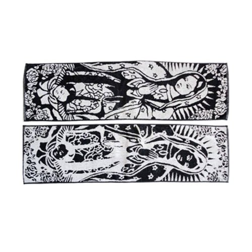 Set of 2 Lightweight Absorbent Hip-hop Sport Towels Yoga Towels Girl Pattern