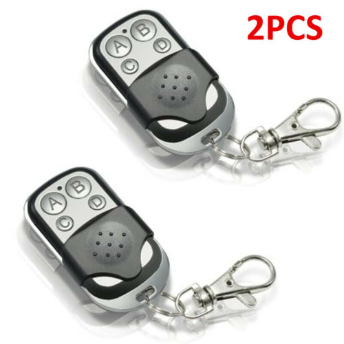 2* Universal Remote Control Key Fob for Car Garage Door Electric Gate Precise UK