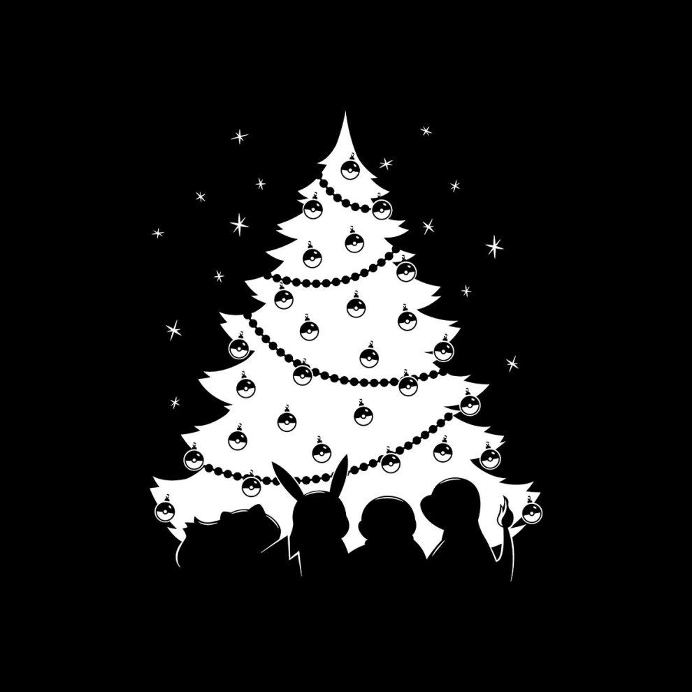 d5e3225b1 Pokemon Christmas Tree Men's T-Shirt on OnBuy