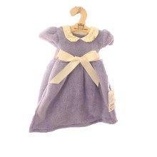 Soft Absorbent Thick Coral Velvet Towel Princess Dress Towel Purple