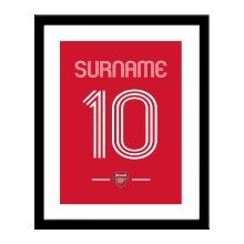 Personalised Arsenal FC Retro Shirt Print