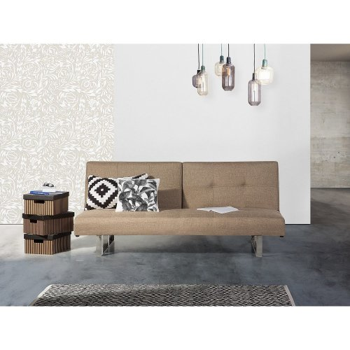 Upholstered Sofa Bed - Couch - Fabric - Settee -  - DUBLIN
