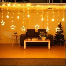 5M 138LEDs Light String Star Curtain Light