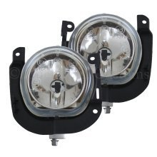 Citroen Nemo 2008-> Front Fog Light Lamps 1 Pair O/s & N/s