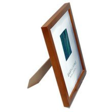 Set Of 2 Decorative Wood 4-by-6-Inch Picture Photo Frame, Coffee