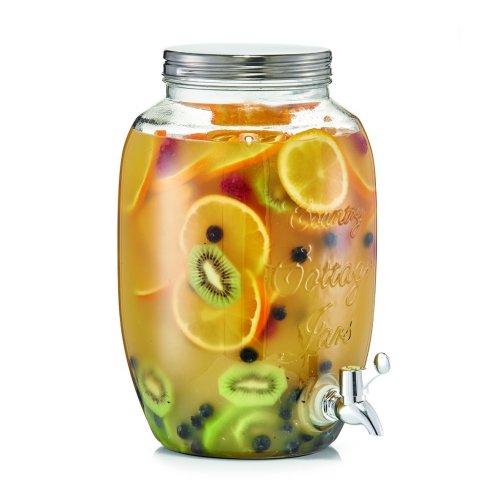 ZELLER-PRESENT 5 Litre Country Style Drinks Dispenser