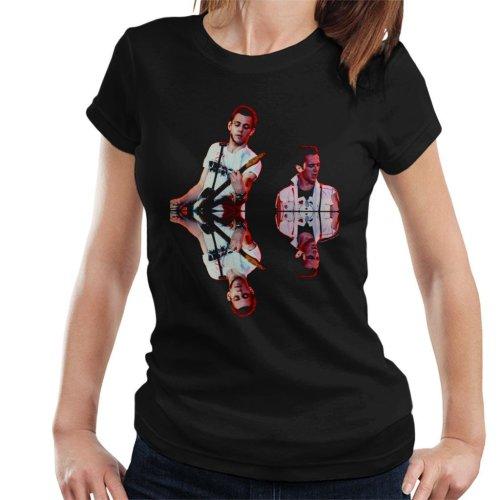 TV Times Paul Simenon And Joe Strummer The Clash Women's T-Shirt