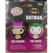 POP! pins Batman the Penguin & the Joker