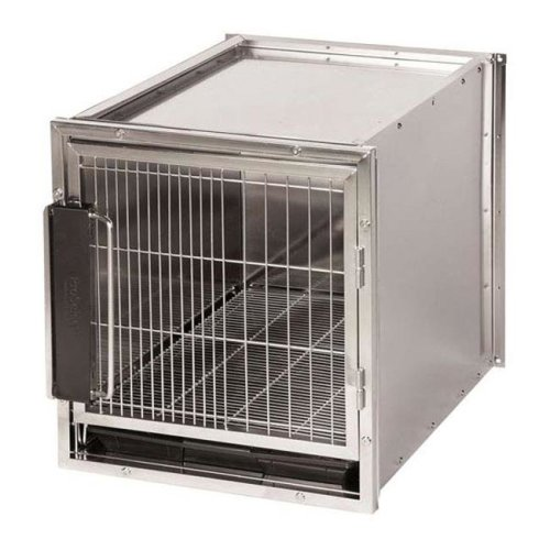 PetEdge ZW1225 42 Proselect Stainless Steel Modular Kennel Cage, Size L