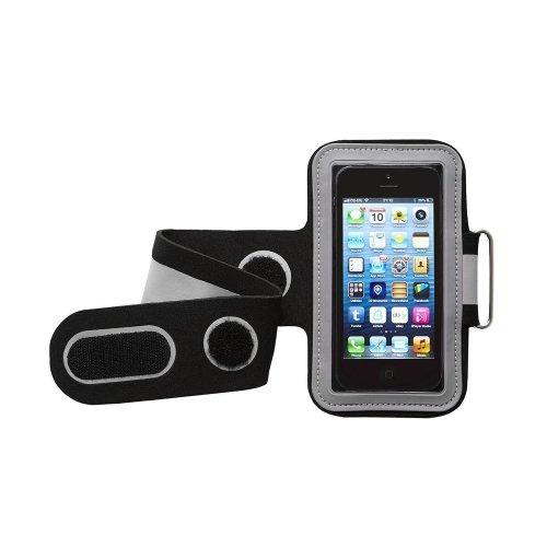 Groov-e GVAM1BG Universal Sport Mobile Phone Devices Armband - Black/Grey