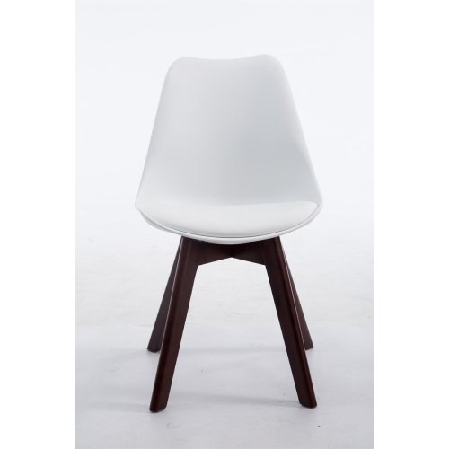 Visitor chair Borneo V2 Walnut leatherette