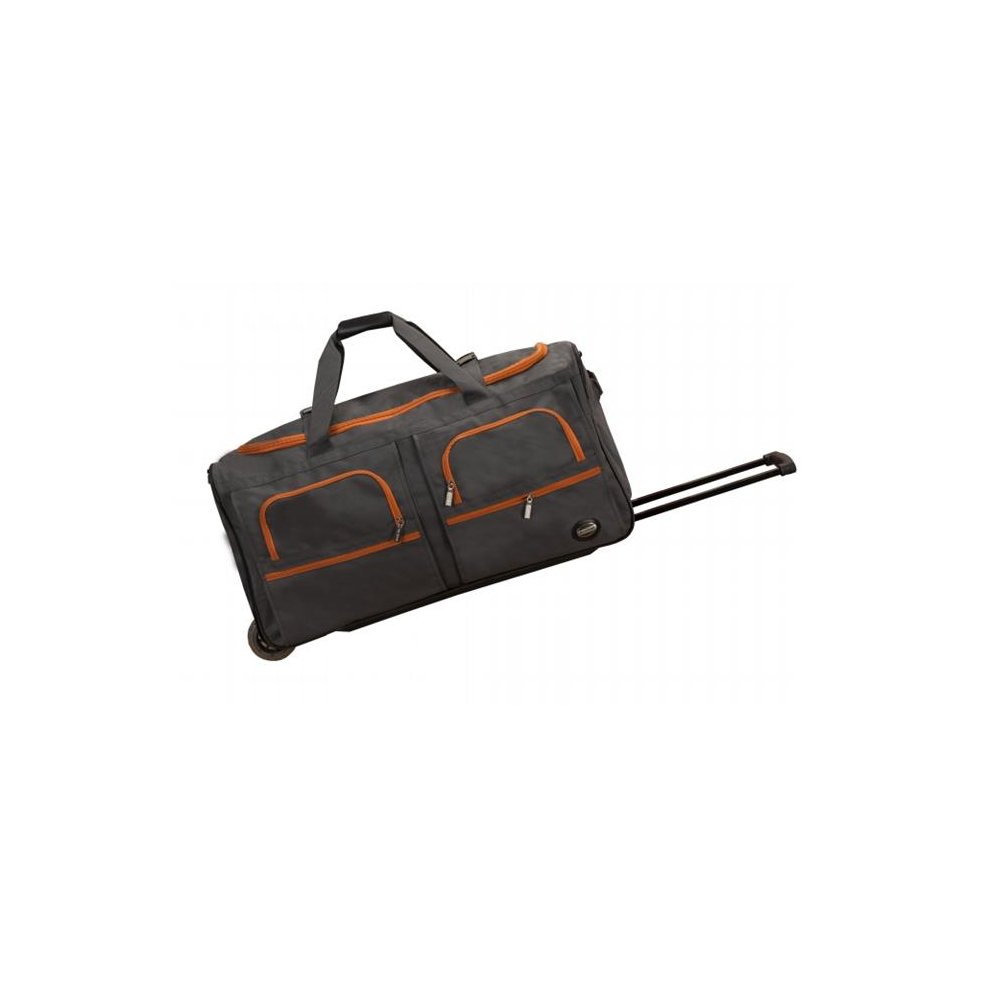 578802be769f Rockland PRD330-CHARCOAL 30 in. ROLLING DUFFLE - CHARCOAL on OnBuy