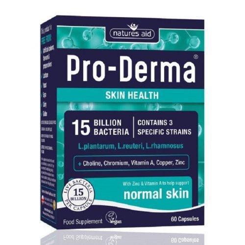 Natures Aid Pro-Derma Skin Health 60 Capsules