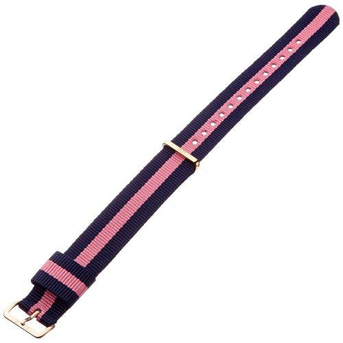 Daniel Wellington Women's Multi-Colour Nylon Watch Strap