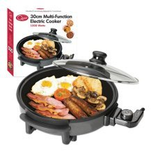 Quest 30 cm Multifunction Electric Cooker 1500W Non Stick Surface Oven
