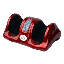 Homcom Electric Foot Leg Massager Blood Booster Shiatsu w/ Remote Control (Red)