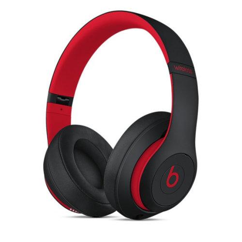 Apple Beats Studio3 Head-band Binaural Wired & Wireless Black, Red mobile headset