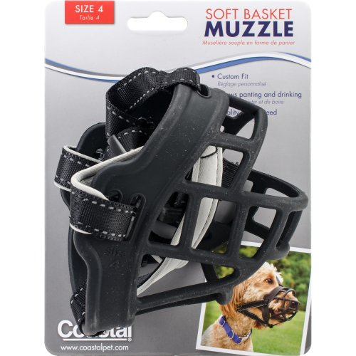 Coastal Soft Basket Muzzle-Dalmatian, Pointer, Husky