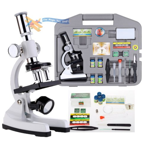 30 Piece 100-1200x  Microscope Set With Carry Case