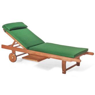 Plant Theatre Reclining Hardwood Sunlounger & Luxury Cushion