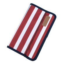 A5 Multilayer File Pocket Student Files Organizer Portable Briefcase-Stripe