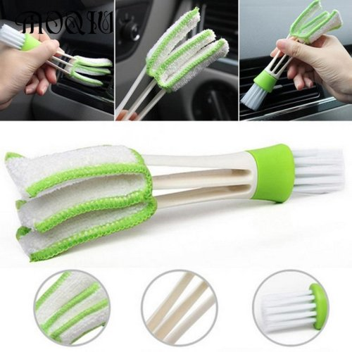 Wash Tool Double Slider Car Air Conditioning Outlet Clean Brush