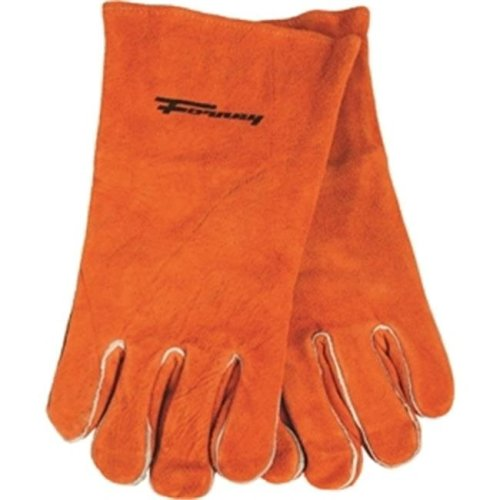 Forney Industries Inc 53432 Glove Welding Brown Mens, X-Large