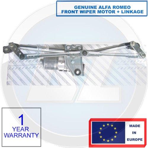 GENUINE ALFA ROMEO 147 1.6 1.9 2.0 3.2 FRONT WINDSCREEN WIPER MOTOR & LINKAGE