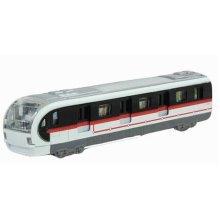 Simulation Locomotive Toy Model Trains Toy Subway, White ( 18.5*4.5*3.5CM)