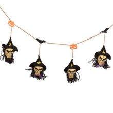 Halloween Decorative Props Bar/Haunted House Decor Skull Ornaments-A2