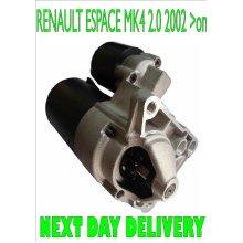 RENAULT ESPACE MK4 2.0 MPV 2002 2003 2004 2005 2006 2007 2008 >on STARTER MOTOR