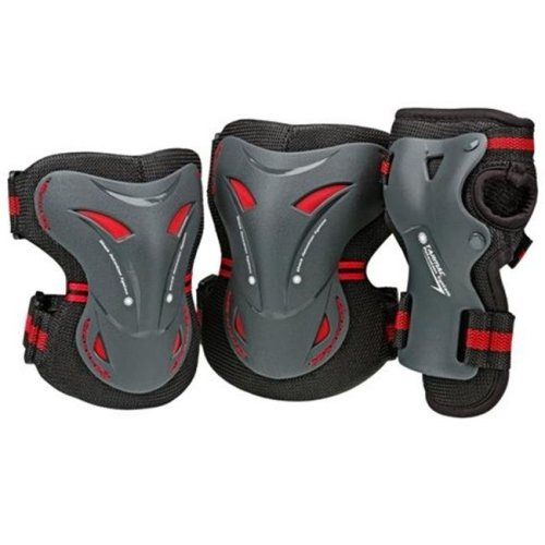Tarmac Tri Pack Adult, Black - Large
