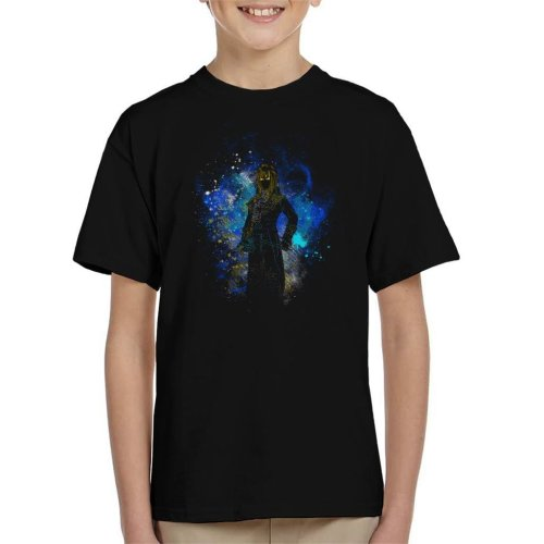 Goblin King Silhouette Labyrinth Kid's T-Shirt
