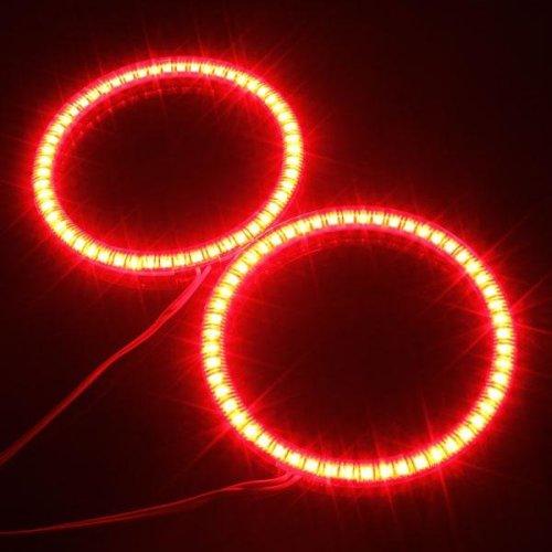 100mm Car 54 LED SMD Light Angel Eye Halo Ring Lamp Bulb For BMW