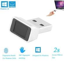 USB Fingerprint Biometric Reader Adaptor for PC Windows 7 8.1 10 Hello