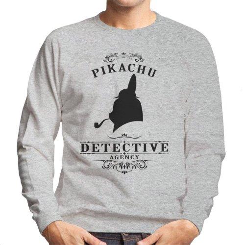 Pikachu Detective Agency Pokemon Men's Sweatshirt