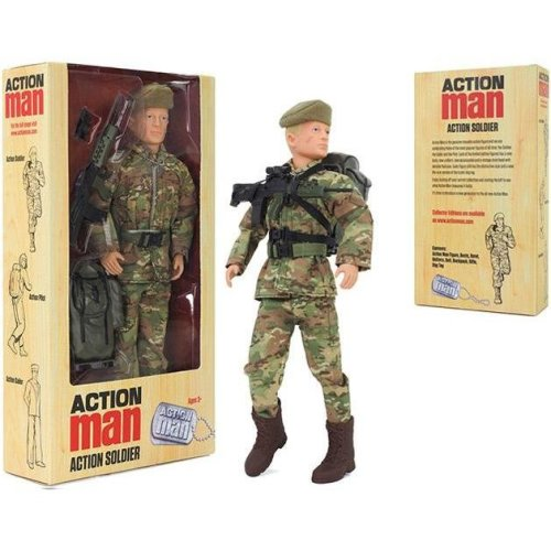 Action Man Soldier Deluxe Boxed Action Figure