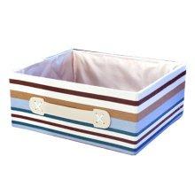 Multifunctional Green Household Foldable Organizer Box Oblong Storage Baskets F